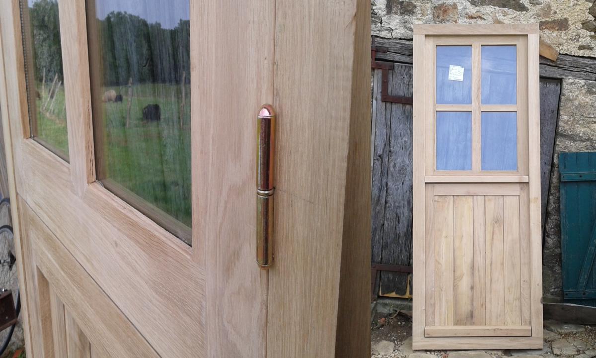 oak stable door made to measure, fait sur mesure en france