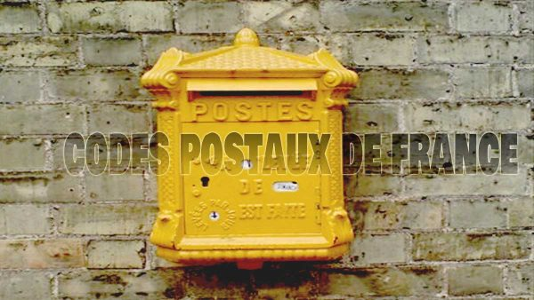 french yellow post box