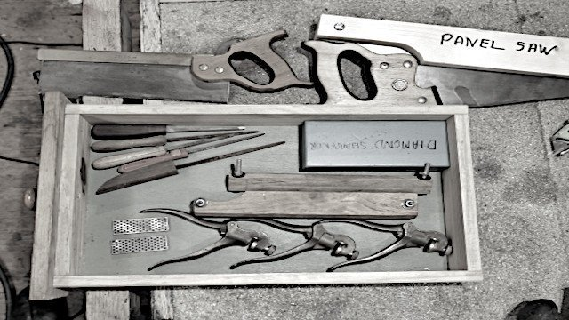 tool kit for saw sharpening
